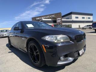 Used 2015 BMW 5 Series 528i xDrive AWD for sale in Sudbury, ON