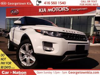 Used 2014 Land Rover Evoque MOONROOF| LEATHER| AWD| MERIDIAN SOUND| SERVICED for sale in Georgetown, ON