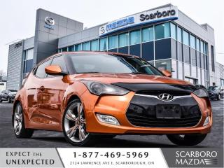 Used 2013 Hyundai Veloster AUTO|TECH PACKAGE|1 OWNER|CLEAN CARFAX for sale in Scarborough, ON