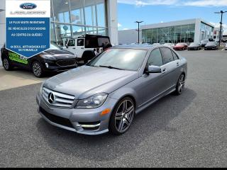 Used 2013 Mercedes-Benz C-Class C 300 4MATIC CUIR,TOIT,NAV for sale in Victoriaville, QC