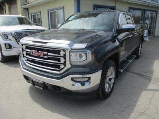 Used 2018 GMC Sierra 1500 LIKE NEW SLT - Z71 EDITION 5 PASSENGER 5.3L - VORTEC.. 4X4.. QUAD-CAB.. SHORTY.. FACTORY WARRANTY.. NAVIGATION.. LEATHER.. HEATED SEATS.. BLUETOOTH.. for sale in Bradford, ON