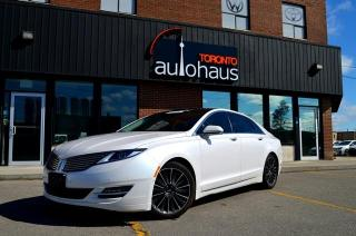 Used 2016 Lincoln MKZ RESERVE/NAVI/PANORAMA/BSM/NO CLAIMS Hybrid for sale in Concord, ON