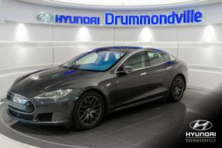 Used 2015 Tesla Model S 90D + AUTOPILOT + AWD + TOIT PANO + WOW! for sale in Drummondville, QC