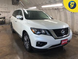 Used 2019 Nissan Pathfinder SL Premium * 7 Passenger * 4WD * Navigation * Panoramic Sunroof * Leather * Power lift gate * Blind Spot Warning (BSW) * Intelligent Emergency Braking for sale in Cambridge, ON