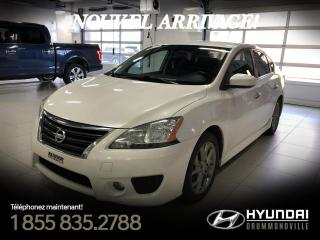 Used 2013 Nissan Sentra SR + GARANTIE + MAGS + CRUISE + A/C + BL for sale in Drummondville, QC