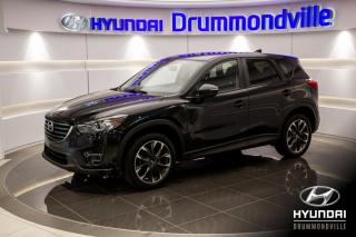 Used 2016 Mazda CX-5 GT AWD + GARANTIE + CUIR + TOIT ! for sale in Drummondville, QC