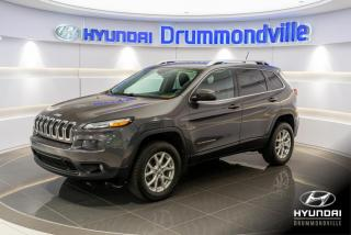 Used 2015 Jeep Cherokee NORTH AWD + GARANTIE + CAMERA for sale in Drummondville, QC