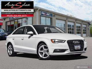 Used 2015 Audi A3 ONLY 87K! **CLEAN CARPROOF** LIGHTING PKG for sale in Scarborough, ON