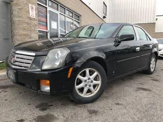 Used 2006 Cadillac CTS LEATHER, POWER SEATS, A/C, CRUISE, CD PLAYER for sale in Orleans, ON