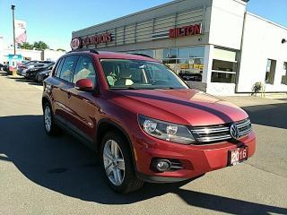 Used 2016 Volkswagen Tiguan COMFORTLINE for sale in Milton, ON