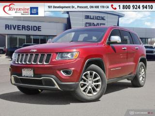 Used 2014 Jeep Grand Cherokee Limited for sale in Prescott, ON