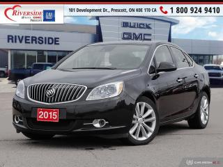 Used 2015 Buick Verano Leather for sale in Prescott, ON