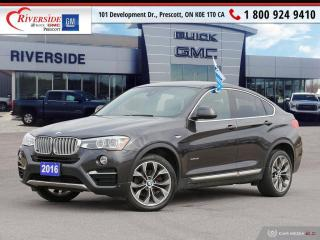 Used 2016 BMW X4 xDrive35i for sale in Prescott, ON