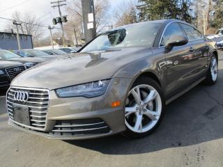 Used 2016 Audi A7 3.0T PROGRESSIV|ONE OWNER|37,000KMS|NAVIGATION !!! for sale in Burlington, ON