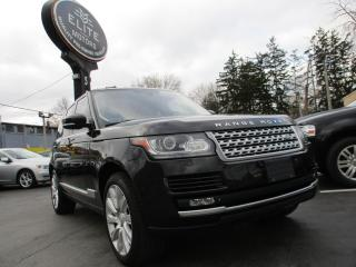 Used 2015 Land Rover Range Rover SUPERCHARGED|FULL SIZE|NAVIGATION|95KM|PANO !! for sale in Burlington, ON