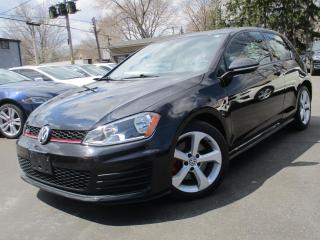 Used 2015 Volkswagen Golf GTI GTI GTI 2.0T | ONE OWNER | LOW KMS 65,000KMS ONLY !! for sale in Burlington, ON