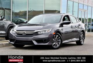 Used 2018 Honda Civic SE SEDAN MAGS AUTO MAGS APPLE CARPLAY BLUETOOTH CAM RECUL ++ for sale in Lachine, QC