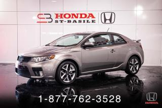 Used 2012 Kia Forte Koup SX + COUPE + CUIR + TOIT + WOW! for sale in St-Basile-le-Grand, QC