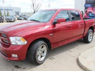 Used 2011 RAM 1500 SPORT CREW/LEATHER/SUNROOF/NAV/BACKUP for sale in Edmonton, AB