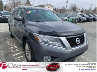 Used 2015 Nissan Pathfinder SL for sale in Rouyn-Noranda, QC