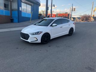 Used 2017 Hyundai Elantra Limited NAV CAM SUNROOF LEATHER CERTIFIED 3MONWARR for sale in Toronto, ON