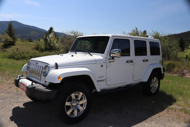 2012 Jeep Wrangler Unlimited SAHARA 4WD LEATHER