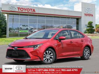 New 2020 Toyota Corolla Hybrid FB20 for sale in Whitby, ON