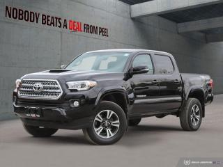 Used 2016 Toyota Tacoma 4WD DOUBLE CAB V6 MAN TRD SPORT for sale in Mississauga, ON