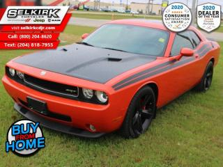 Used 2009 Dodge Challenger SRT8 - Low Mileage for sale in Selkirk, MB