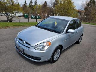 Used 2010 Hyundai Accent 3DR HB for sale in Mississauga, ON