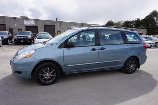 Used 2006 Toyota Sienna CE 7 PSSNGRS CERTIFIED 2YR WARRANTY *FREE ACCIDENT*WINTER TIRES ON RIMS* CRUISE for sale in Milton, ON