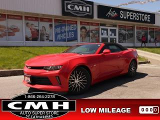 Used 2018 Chevrolet Camaro LS  CONVERTIBLE PREM-WHEELS BT P/SEAT for sale in St. Catharines, ON