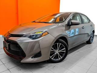 Used 2018 Toyota Corolla LE TOIT OUVRANT SIÈGES / VOLANT CHAUFF *BAS KM* for sale in St-Jérôme, QC