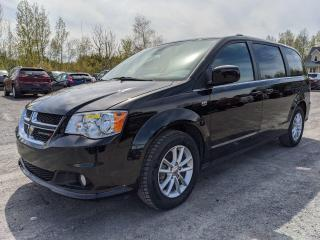 Used 2019 Dodge Grand Caravan 35E ANNIV STOW N GO CAMÉRA CUIR SUEDE DVD *BAS KM* for sale in St-Jérôme, QC