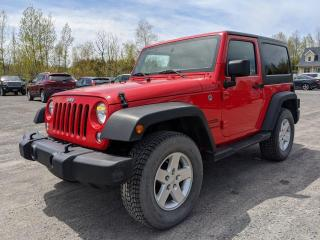 Used 2016 Jeep Wrangler SPORT 4X4 CLIMATISEUR *BAS KILOMÉTRAGE* for sale in Mirabel, QC