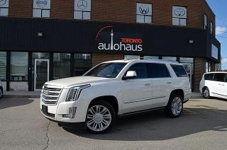 Used 2015 Cadillac Escalade PLATINUM/DVDX3/NAVI/NO ACCIDENTS Platinum for sale in Concord, ON