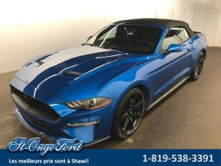Used 2019 Ford Mustang EcoBoost décapotable for sale in Shawinigan, QC