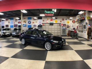 Used 2015 BMW 3 Series 320I X DRIVE LUXURY   PREMIUM PKG AUT0 SUNROOF 96K for sale in North York, ON