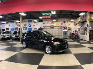 Used 2015 BMW X1 XDRIVE AUT0 AWD LEATHER PANO/ROOF P/SEAT 111K for sale in North York, ON