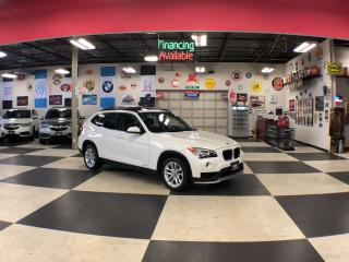 Used 2015 BMW X1 XDRIVE AUT0 AWD LEATHER PANO/ROOF BLUETOOTH 81K for sale in North York, ON