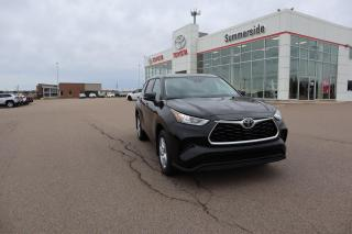 New 2020 Toyota Highlander LE for sale in Summerside, PE