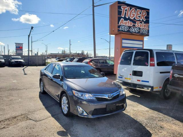 2013 Toyota Camry XLE**LEATHER**ONLY 107KMS**NAVI**CAM**4 CYLINDER**
