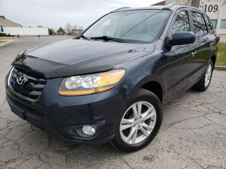Used 2010 Hyundai Santa Fe LIMITED for sale in Brampton, ON