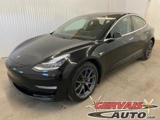 Used 2020 Tesla Model 3 Long Range LR Autopilot Cuir Toit panoramique GPS for sale in Trois-Rivières, QC