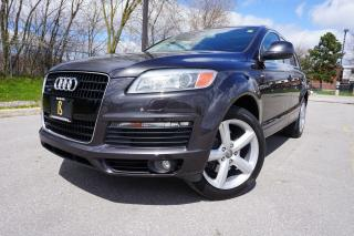 Used 2008 Audi Q7 1 OWNER / NO ACCIDENTS / LOW KM'S / 4.2 / S-LINE for sale in Etobicoke, ON