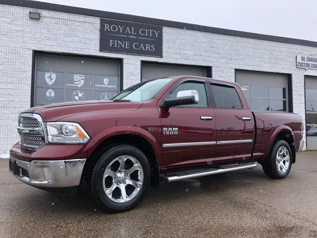 2016 RAM 1500 Laramie ECO-DIESEL Crew Cab One Owner Nav Sunroof