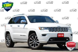 Used 2018 Jeep Grand Cherokee Overland 5.7L V8 / NAVIGATION / SUNROOF / DVD for sale in Kitchener, ON