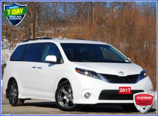 Used 2017 Toyota Sienna 7 Passenger SE/7 PASSENGER/LEATHER/POWER DOORS/REAR CAM for sale in Kitchener, ON