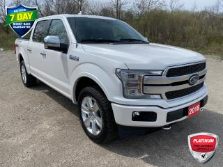 Used 2018 Ford F-150 Platinum PLATINUM/ADAPTIVE CRUISE/SUNROOF for sale in Kitchener, ON