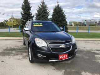 Used 2011 Chevrolet Equinox 2LT BEING SOLD AS IS for sale in Grimsby, ON